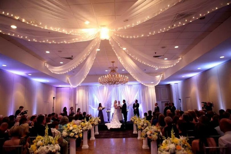 Indoor Ballroom Ceremony