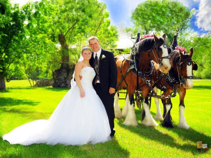Tmx 1455656598279 Wedding Photo With Horses Helena wedding photography
