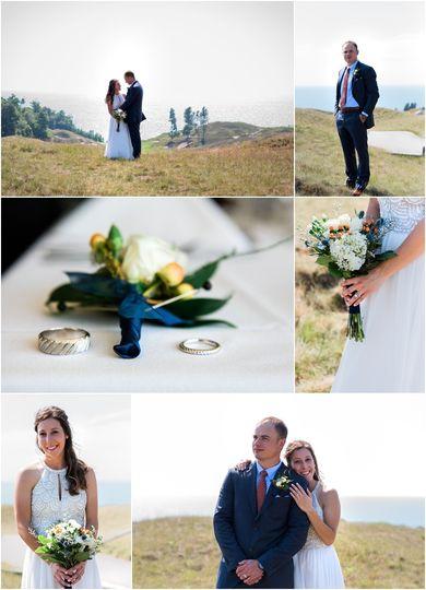 Wedding Arcadia Bluffs M+N
