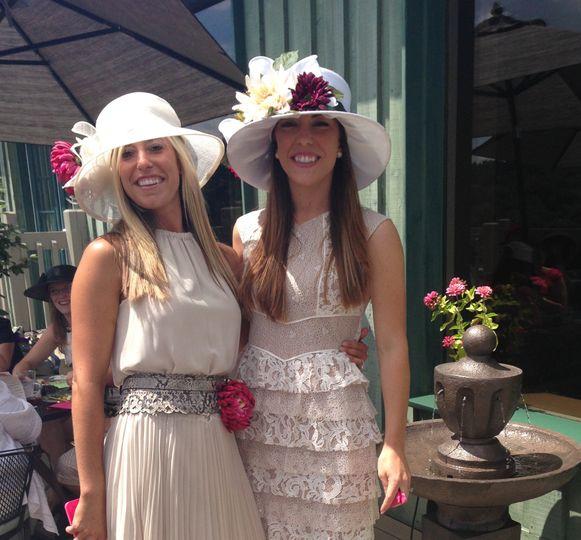 Bridal shower tea party!