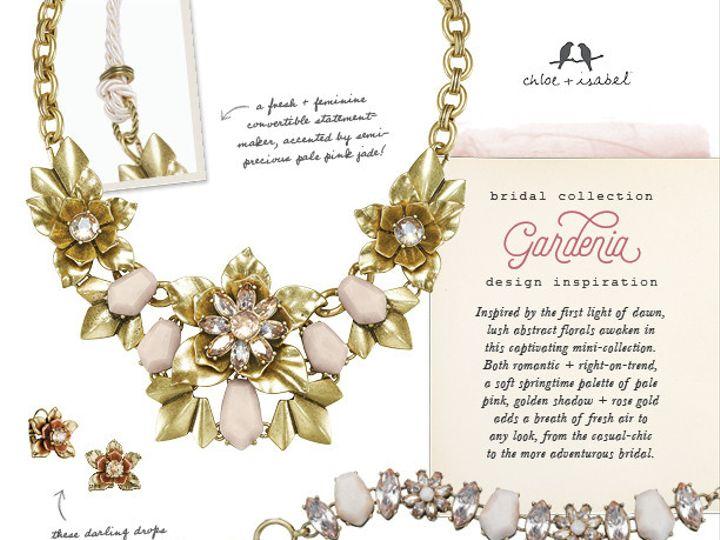 Tmx 1458274335578 Bridalcollectioninspirationpostersgardeniaw Briggsdale wedding jewelry