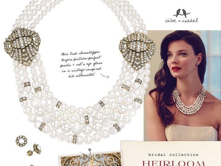 Tmx 1458274360070 Bridalcollectioninspirationpostersheriloomw Briggsdale wedding jewelry