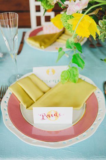 Bridal plate setup
