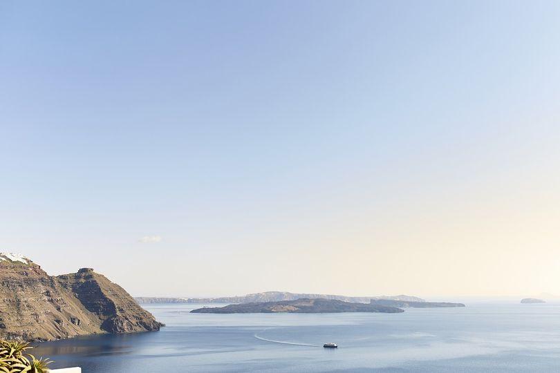 Santorini vistas