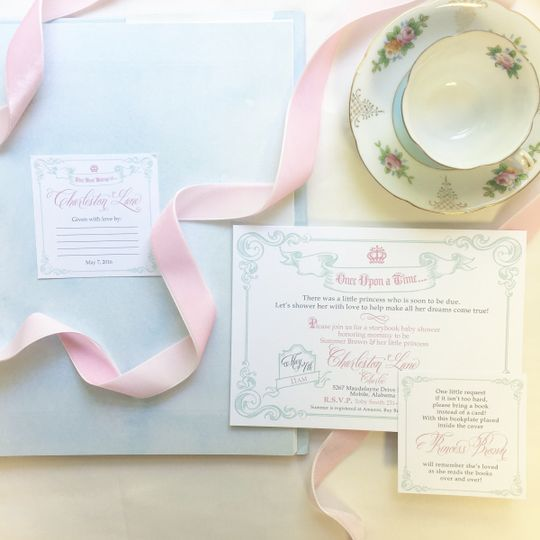 baby shower once upon a time