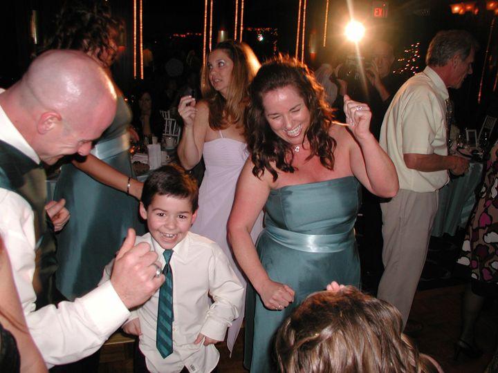 Kids having fun at the wedding