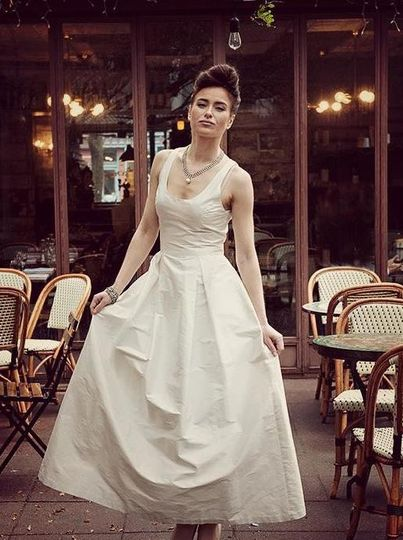 Kimera Dress Attire Brooklyn Ny Weddingwire
