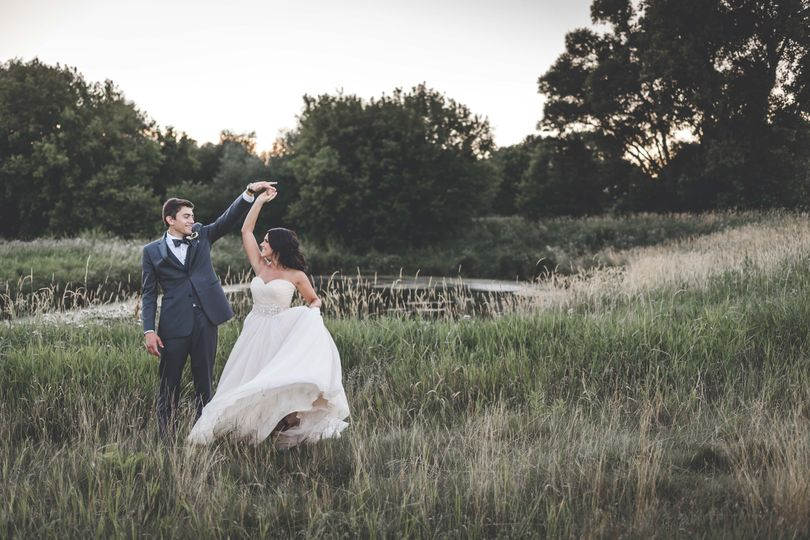 Dancing in the field