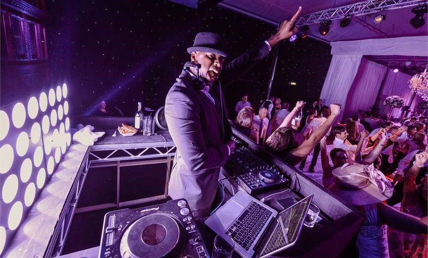DJ Butta on the table