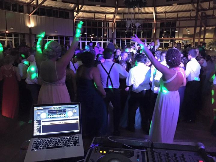 The dance floor was packed!