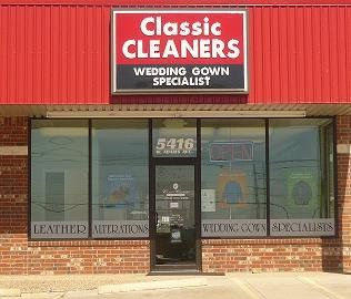 Classic Cleaners & Wedding Gown Specialists 5416 W. Adams Avenue Temple, TX 76502 254.899.2255