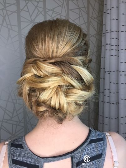 Twisted Soft Updo