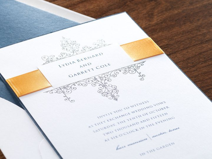 Tmx 1401627294930 12 Montvale wedding invitation