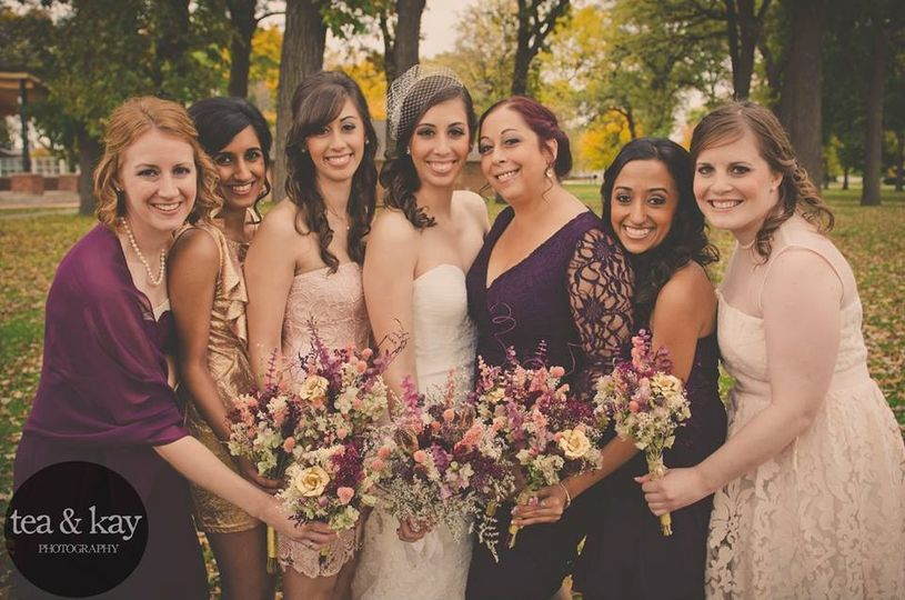 laura zitella 10 18 14 bridal party pic