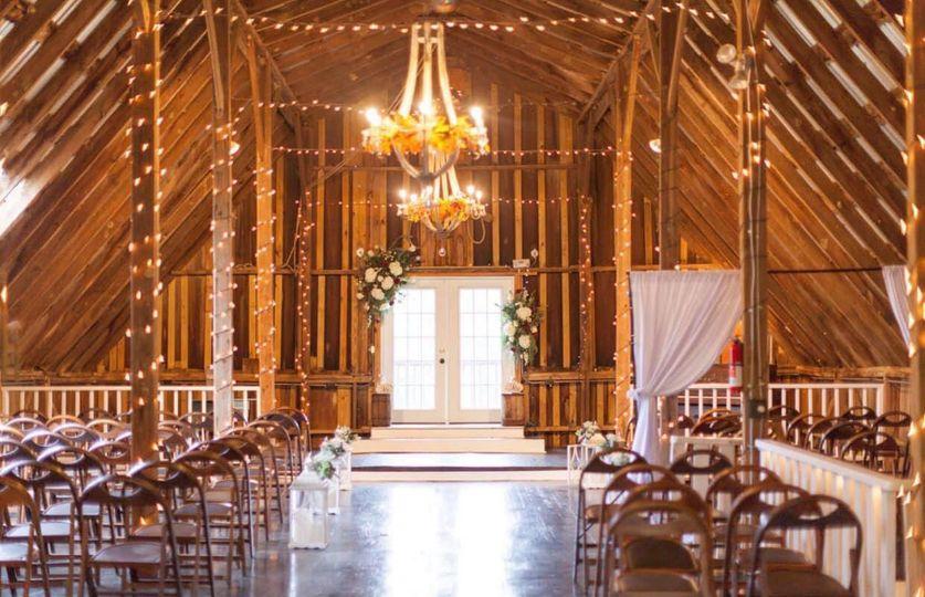 Vintage Barn Ceremony