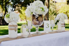 Rustic Revival decor rentals
