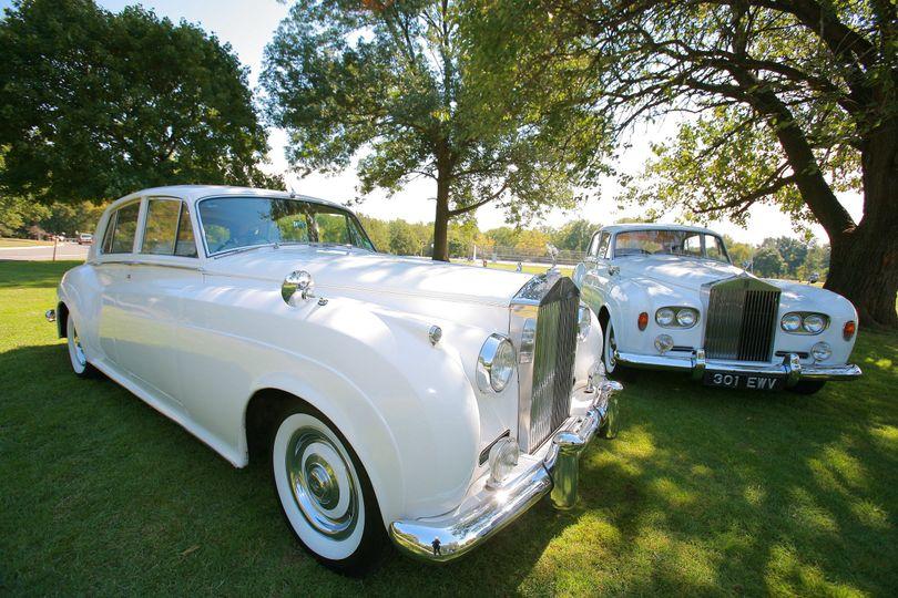 1960 Rolls Royce Silver Cloud II - Left1964 Rolls Royce Silver Cloud III - Right