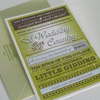 Tmx 1358370038444 Elumweddinginvitel Rhinebeck wedding invitation