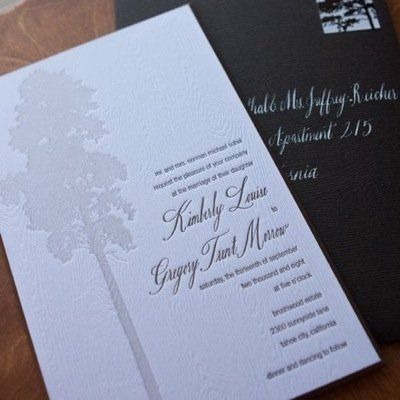 Tmx 1358370043318 Twigandfigweddinginvitel Rhinebeck wedding invitation
