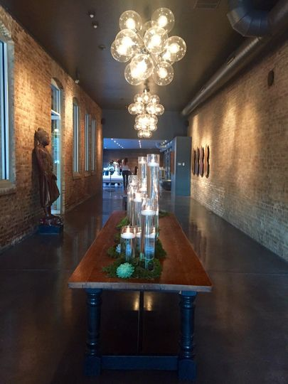 800x800 1460510629524 south side entryway table  Artifact Events   Venue   Chicago  IL   WeddingWire. Architectural Artifacts Chicago Wedding Cost. Home Design Ideas