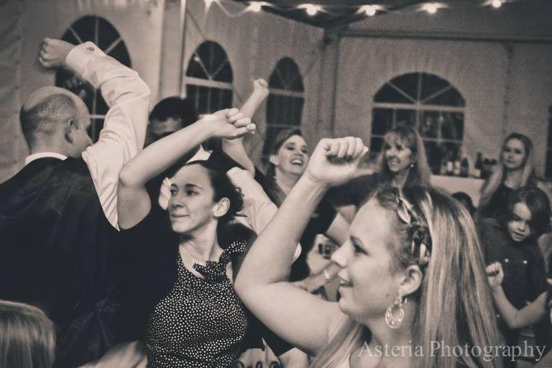 When the party kicks into high gear...