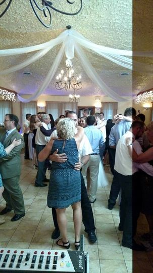 A slow dance occasionally breaks things up a little.