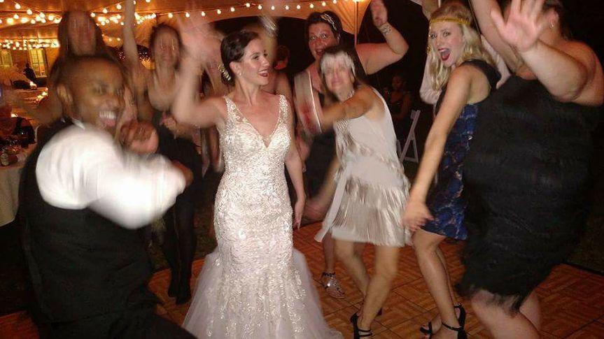 """A """"Gatsby"""" themed wedding"""