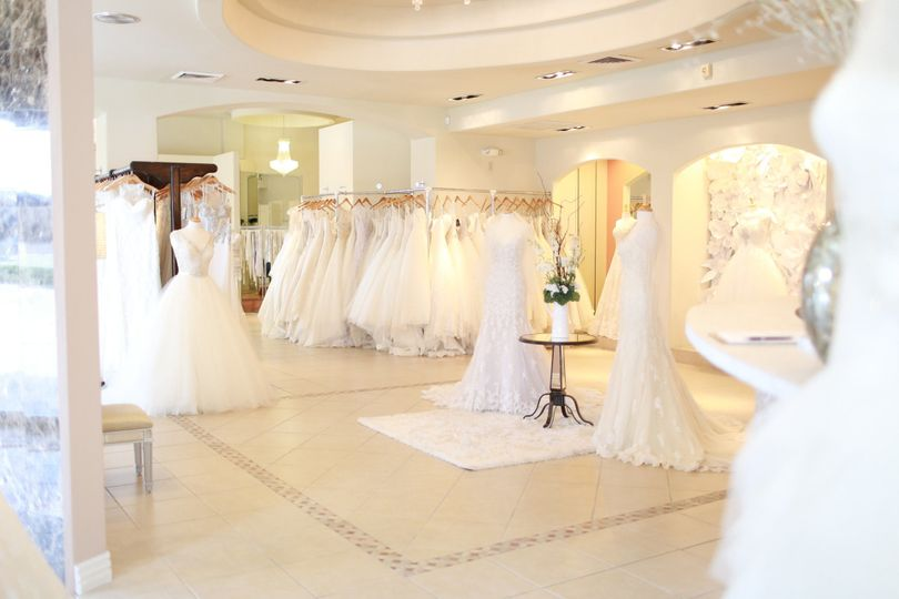White wedding dresses selection