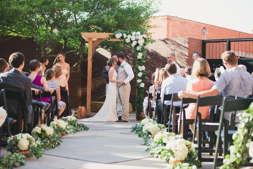Exterior View Wedding Ceremony