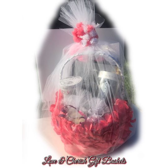 Wedding/Bridal shower Gift Basket
