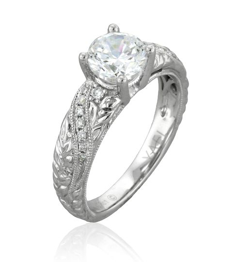 Engagement ring from Novelique Collection