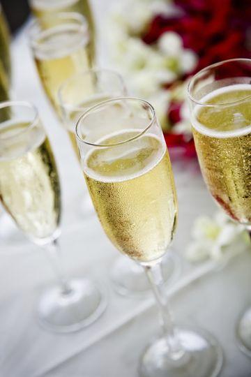 champain glass