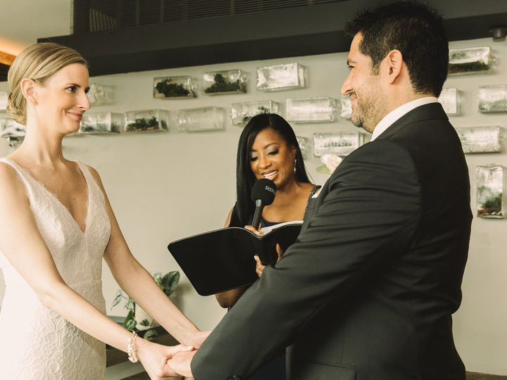 Tmx Wedding Officiant And Couple In Wedding Ceremony 51 718064 160858732941236 Westfield, NJ wedding officiant