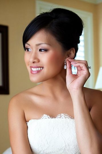 Hair and makeup by Giao Nguyen