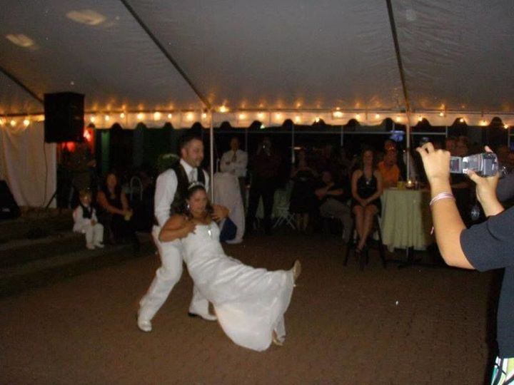 First dance of the bride and groom
