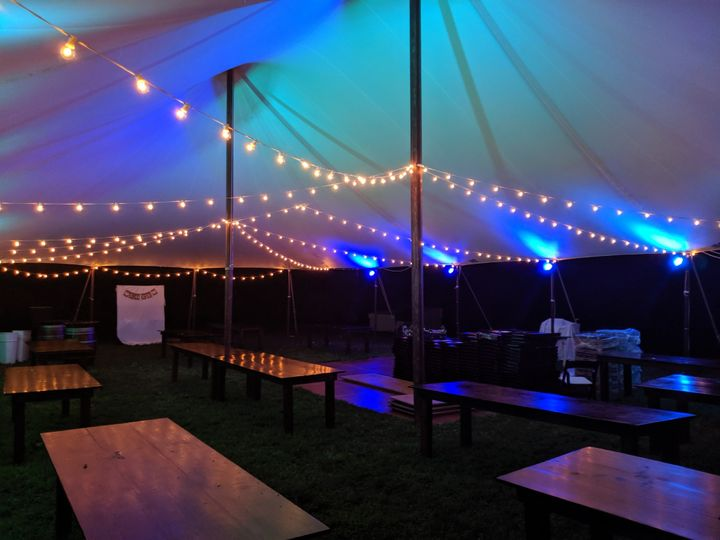 Tent String & Canopy Light