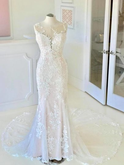Elegant full lace dress