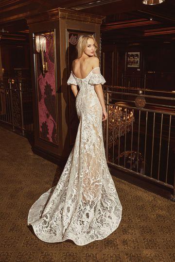 Classy off shoulder lace dress