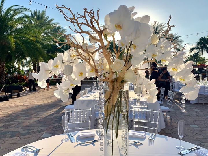 Tmx White Phalaenopsis Beach Wedding Centerpiece 51 573164 158110200763979 Marco Island, FL wedding florist
