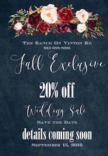Fall Excluvie Deal Coming Soon