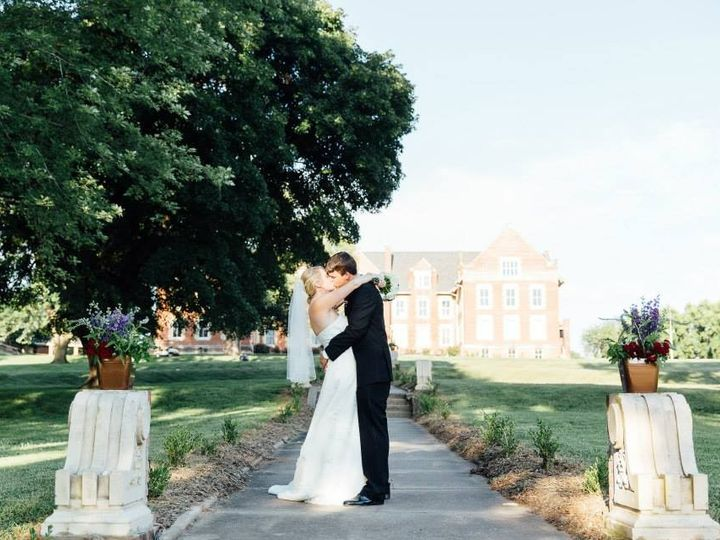 Tmx 1454340792787 Couple On Walkway With Building In Background Liberty, MO wedding venue