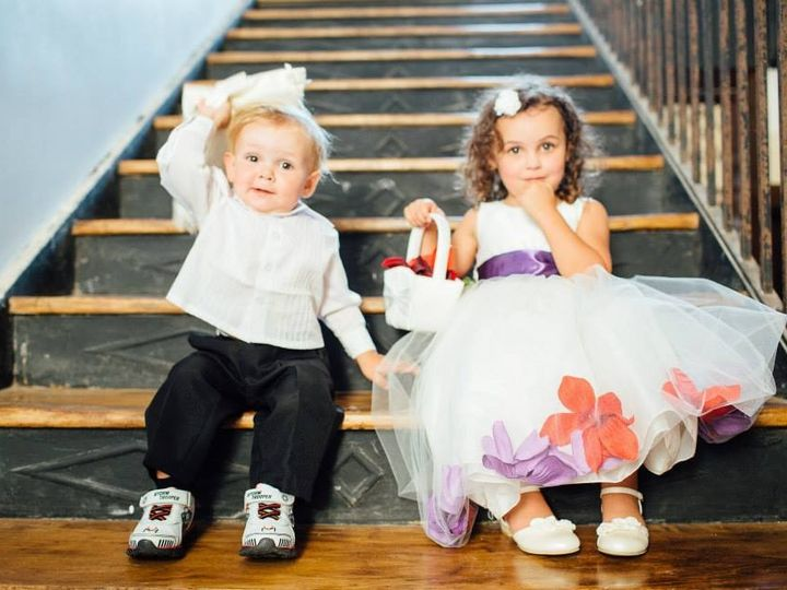 Tmx 1454340900012 Ringbearer And Flower Girl On Stairs Liberty, MO wedding venue