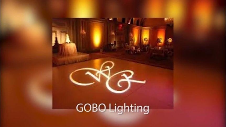 Gobo (custom mongram lighting)