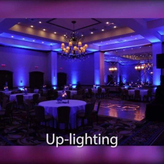 Up-lighting