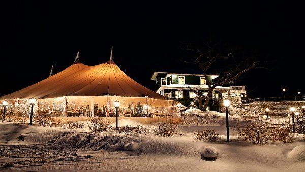 Tent in the dessert