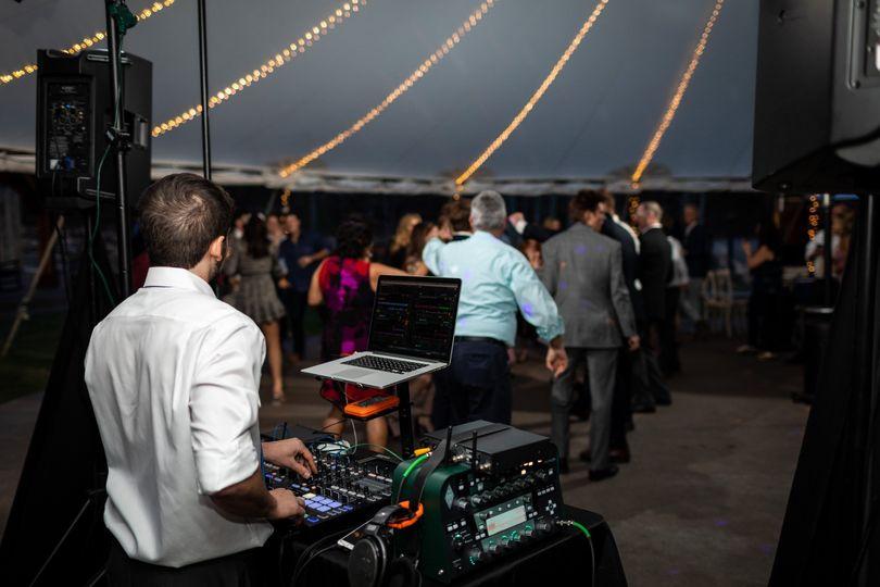 DJ Set Up - Idaho Springs