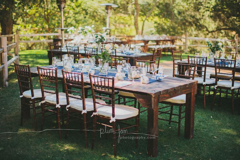 Rustica Collection with Fruitwood Chivari Chairs