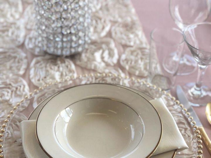 Tmx 1523723182 0659acea547f226d 1523723181 7ee3c718f9106ef2 1523723160937 7 Gold Border Plate Paso Robles, CA wedding rental