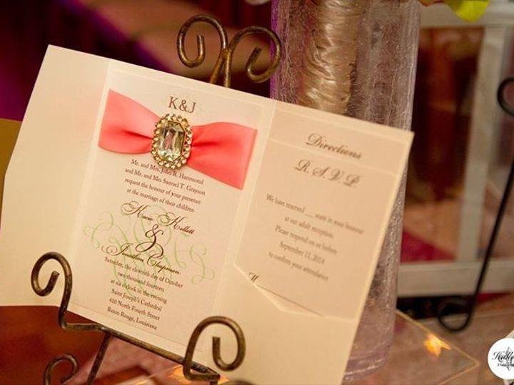 Tmx 1398975796704 Img37748309758914 Baton Rouge, LA wedding invitation