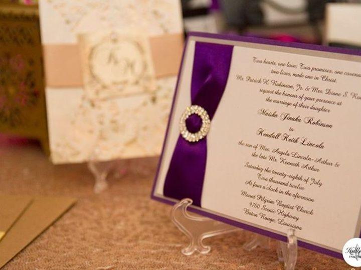 Tmx 1398975799270 Img37748749114934 Baton Rouge, LA wedding invitation